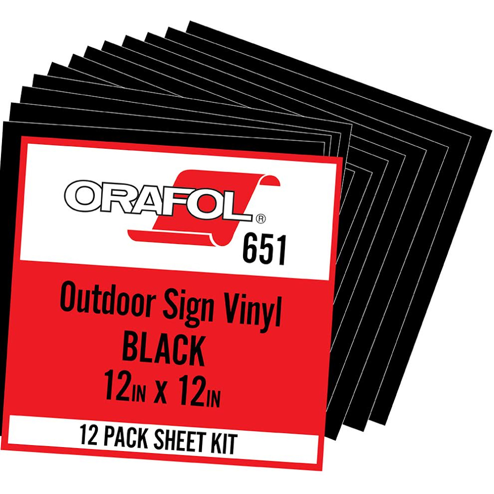 Oracal-651-Black-Vinyl-12×12-pack